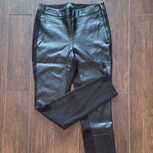 LIKE NEW - Leather Panel Leggings | 0